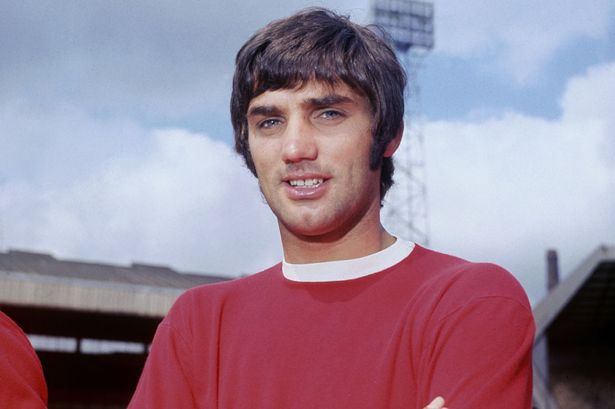 George Best of Manchester United FC, 1968