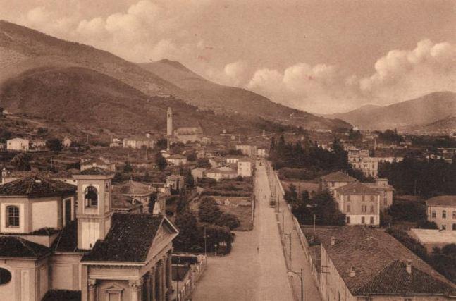 viale roma primi anni del 900